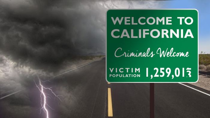 Welcome criminals to California